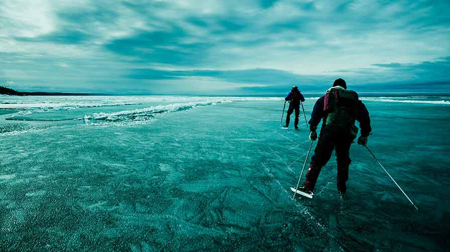 On thin ice (mobile)